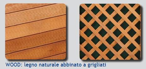 Piscine rivestite in legno Technypools finiture legno