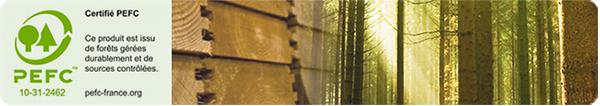 piscine in legno certificate PEFC