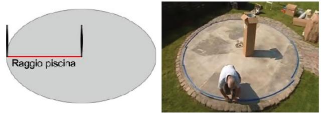 Montaggio piscine rivestite in legno base