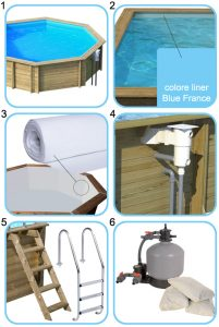 Piscine in legno NaturalWood kit special