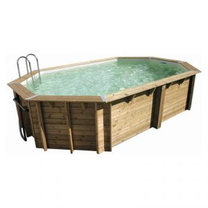 Piscine in legno NorthWood ottagonale allungata