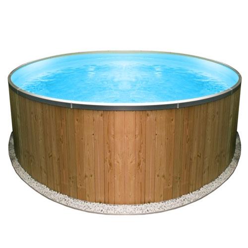 Piscine rivestite in legno steel wood - Piscine rivestite in legno ...