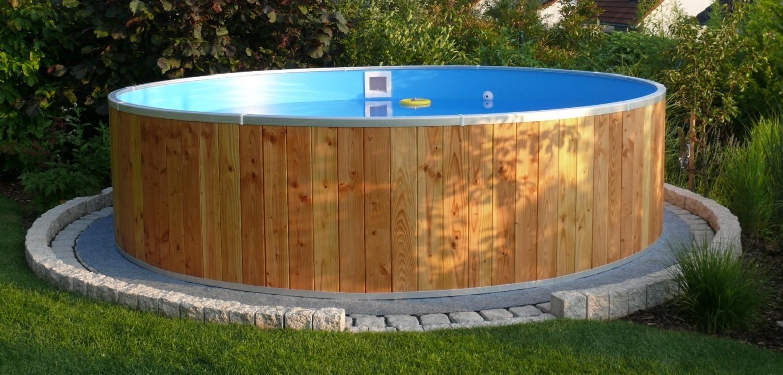 Piscine Da Esterno Rivestite In Legno montaggio piscine rivestite in legno | piscine in legno