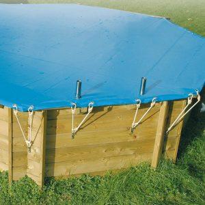 accessori per piscine in legno copertura invernale