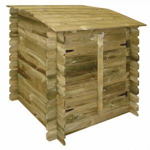accessori per piscine in legno locale tecnico chiuso