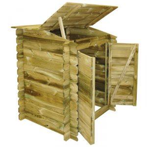 accessori per piscine in legno locale tecnico aperto