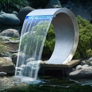 accessori per piscine in legno cascate mamba