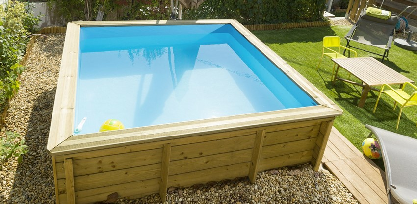 Piscina in legno NaturalWood JUNIOR